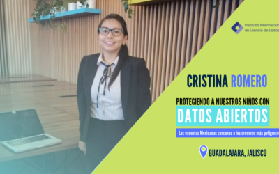 Cristina Romero participa en un encuentro con el Women In Data Science Power and Engineering