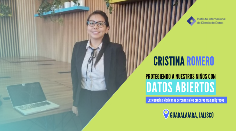 Cristina Romero participa en un encuentro con el Women In Data Science Power and Engineering