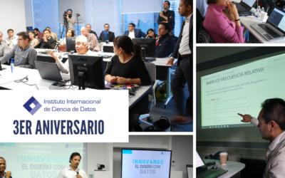 Celebra su tercer aniversario el Instituto Internacional de Ciencia de Datos