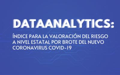 DATA²NALYTICS: ÍNDICE PARA LA VALORACIÓN DEL RIESGO A NIVEL ESTATAL POR BROTE DEL NUEVO CORONAVIRUS COVID-19