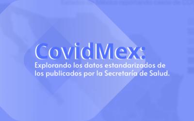 COVIDMEX: EXPLORANDO LOS DATOS ESTANDARIZADOS DE LOS PUBLICADOS POR LA SECRETARÍA DE SALUD